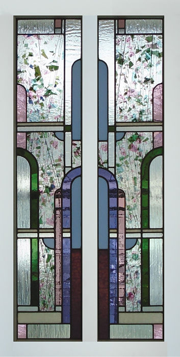 Art deco stained glass by The Glass Studio